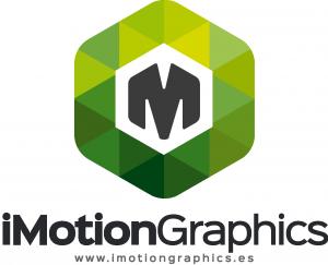Imotiongraphics logo verde grande